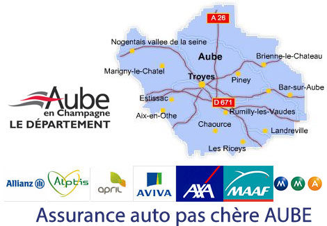assurance auto Aube