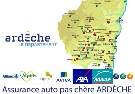 assurance auto Ardèche
