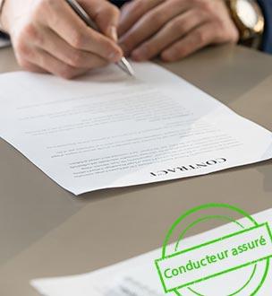 contrat assurance auto pour trop de sinistralités