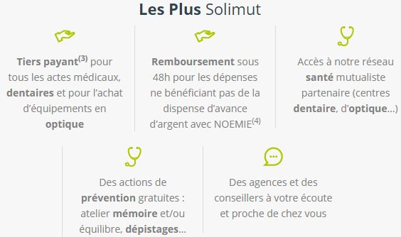 mutuelle senior solimut